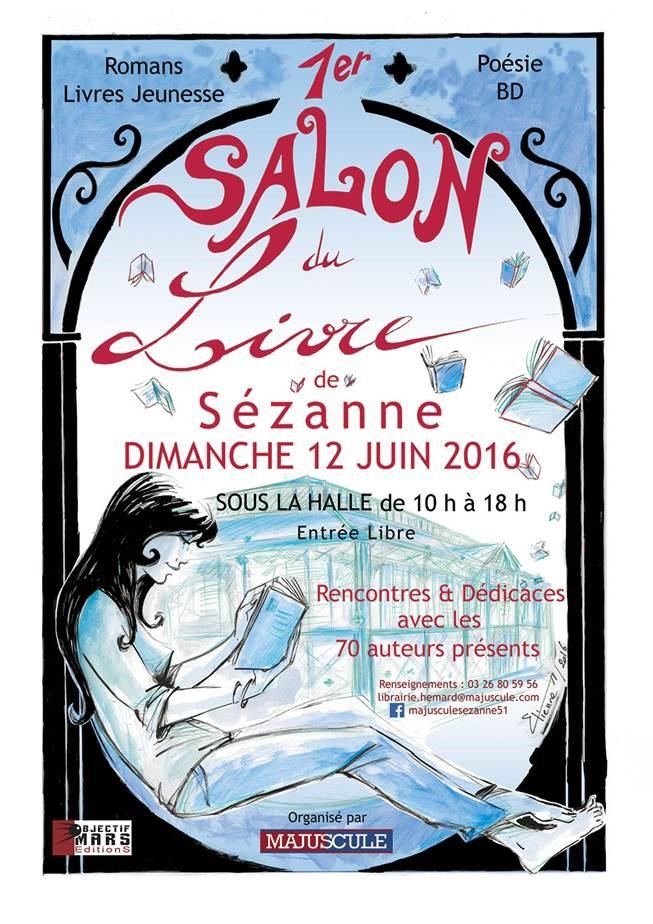 Salon du livre de Sézanne